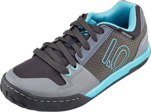 Five Ten Freerider Contact Shoes Women Shock Green/Onix UK 8,5